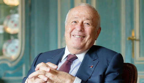 Foto Kisah Orang Terkaya: Alain Merieux, Pemilik Raksasa Vaksin Prancis yang Dekat dengan Xi Jinping