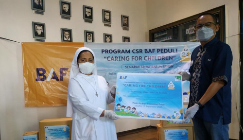 CSR BAF Caring for Children Rangkaian Menyambut HUT BAF ke-24
