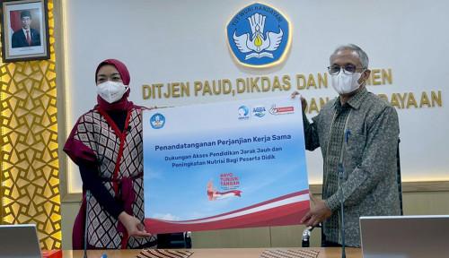 Danone Indonesia dan Kemendikbudristek Bersinergi   Dukung PJJ
