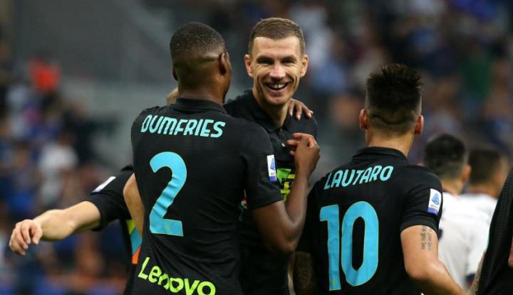 Sadis, Inter Milan Lumat Bologna 6-1