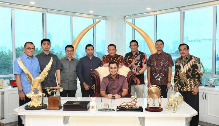 Terima Badan Pengurus Daerah HIPMI Jaya, Bamsoet Dorong Pengusaha Muda Manfaatkan Kemajuan Iptek