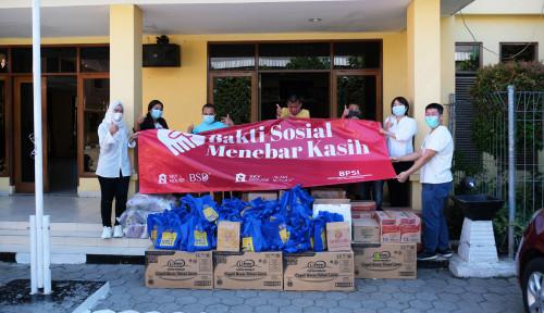 Apartemen Sky House dan Bright Property Service Indonesia Salurkan 1.000 Paket Bantuan Sembako