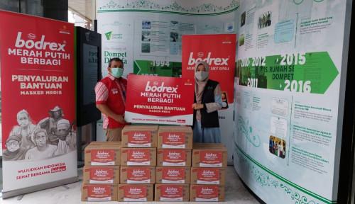 Bodrex Bagikan Lebih dari 2,5 Juta Masker Sejak Pandemi