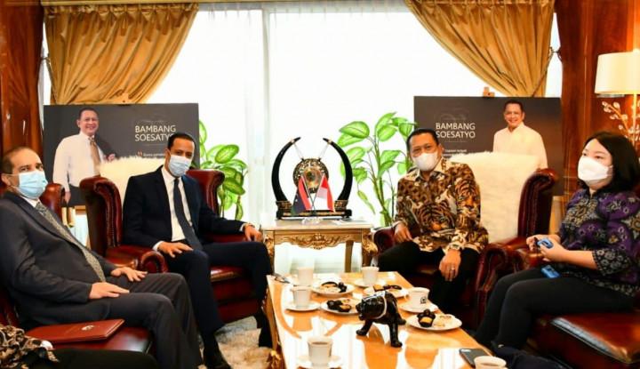 Terima Dubes Libya untuk Indonesia, Bamsoet Dorong Peningkatan Kerja Sama Ekonomi