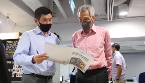 Lee Hsien Loong: Satgas Corona Lakukan yang Terbaik untuk Merawat Para Pasien