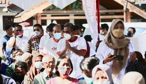 Siapkan 10 Ribu Vaksin, Gerindra DIY Percepat Target Kekebalan Komunal