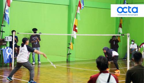 Perayaan Kemerdekaan Indonesia ke-76, Octa Investama Berjangka Mengadakan Turnamen Badminton