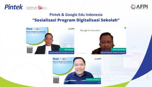 Digitalisasi Sekolah Lewat Chromebook, PT Pintek Kolaborasi Bersama Google For Education