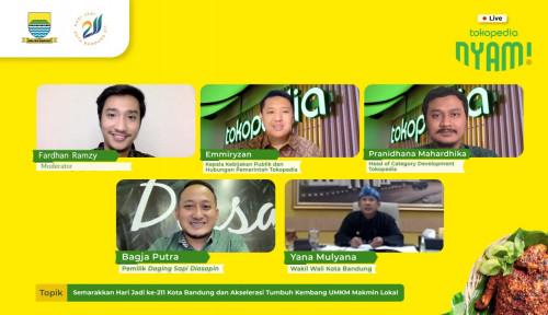Tokopedia Nyam Genjot Penjualan UMKM Kuliner Bandung