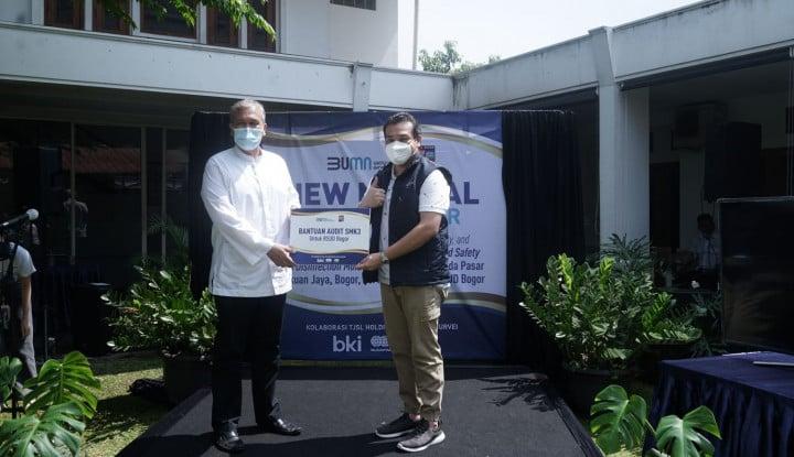 New Normal, Holding BUMN Jasa Survei Kolaborasi dengan Pemkot Bogor