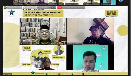 Gerakan Indonesia Menulis Indonesia Kekurangan Penulis Best Seller, Mari Menulis!