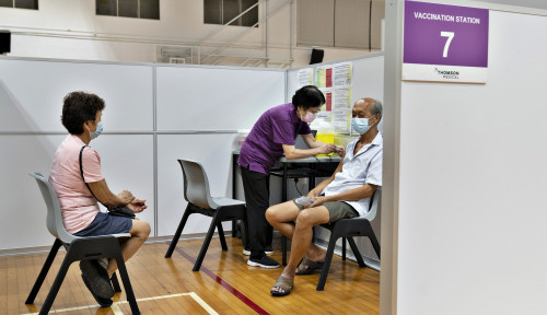 Singapura Kini Resmi Pakai Vaksin Sinovac, tapi Penyuntikannya Harus...