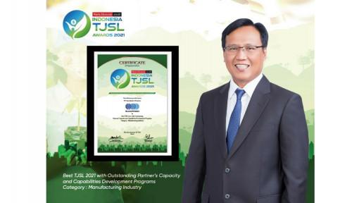 Sucofindo Raih Penghargaan pada Ajang Indonesia TJSL Awards 2021