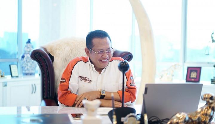 Bamsoet Sosialisasikan 4 Pilar MPR RI di Ajang Balap Jatim Drag Race & Drag Bike Championship 2021