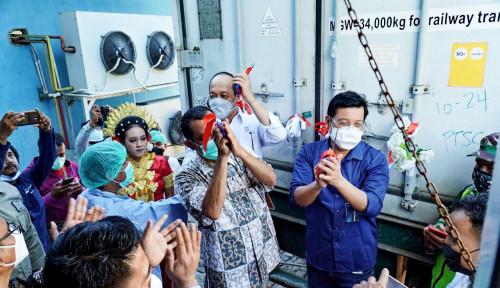 Dukung Nelayan Naik Kelas, BUMN Klaster Pangan Lakukan Ekspor Perdana Gurita ke Amerika Serikat