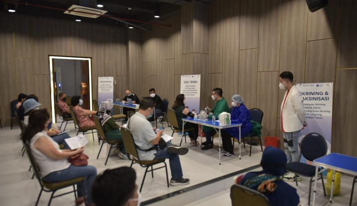 Sehat365 Kembali Gelar Vaksinasi Gotong Royong di Surabaya