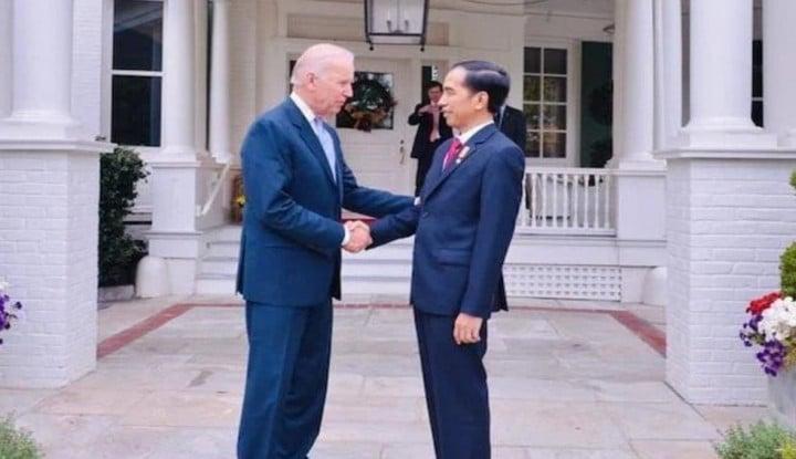 Dikuliti Pengamat, Pertemuan Biden dan Jokowi Ada Maksud Lain