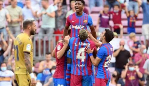 Akhiri Krisis Kemenangan, Barca Lumat Levante 3-0