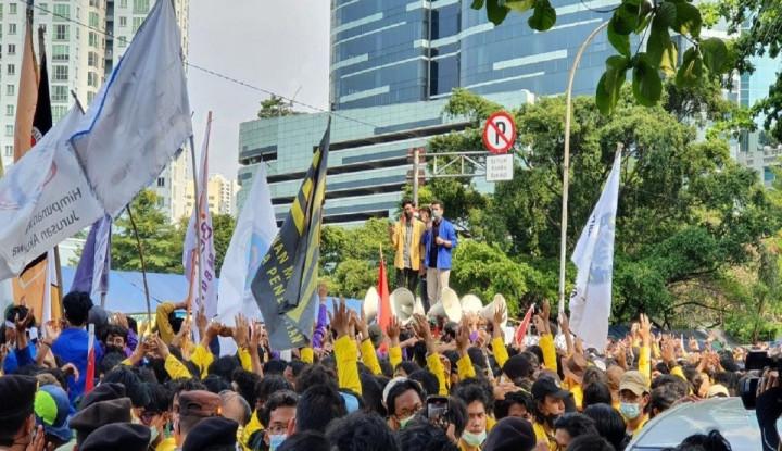 Aksi BEM SI Tuntut Jokowi Disebut Mirip Simpatisan Habib Rizieq, Sama-sama...