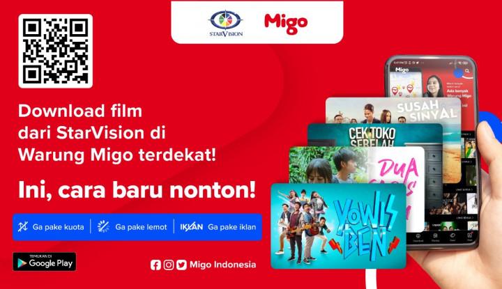 Migo Lanjutkan Kerja Sama Jangka Panjang dengan StarVision