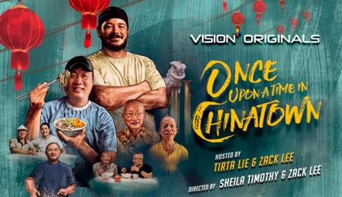 Vision+ Milik IPTV Kembali Produksi Docuseries Tentang Kuliner Kawasan Kota di Jakarta