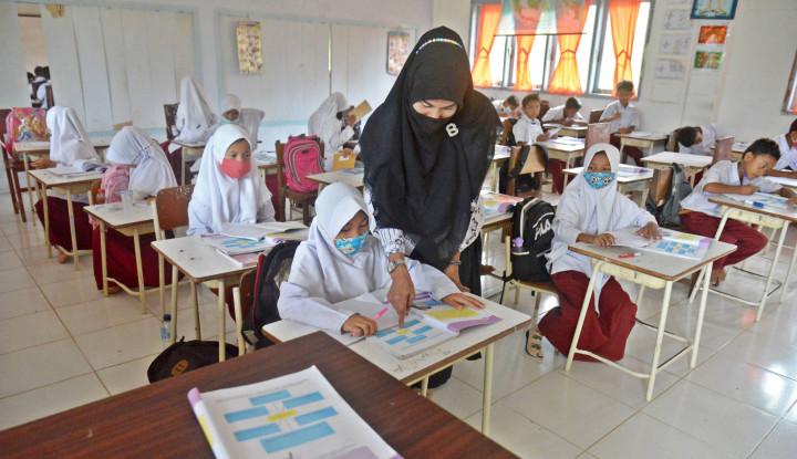 Belum Dapat Ijin Orang Tua, Beberapa Sekolah Di Kota Ini Masih Belum Gelar PTM