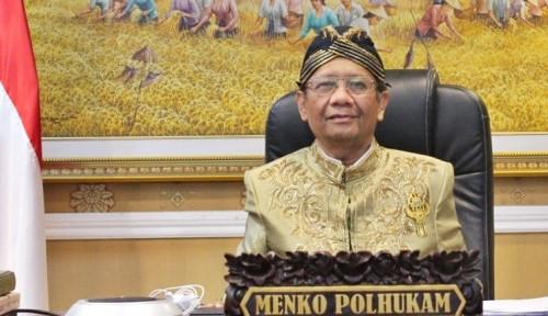 Saling Balas, Orang Pro Jokowi Berikan Pernyataan Keras untuk Mahfud MD