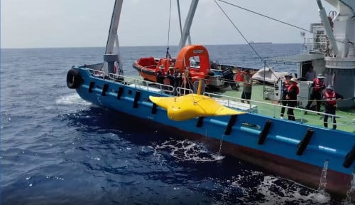Alert! Ilmuwan China Rampungkan Uji Coba Drone Mata-Mata Mirip Ikan di Laut China Selatan