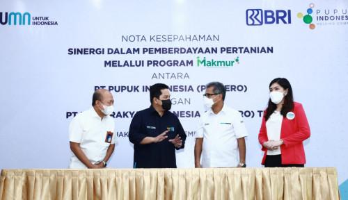 Sinergi Pupuk Indonesia dan BRI, Program Makmur jadi Solusi Pemberdayaan Petani Nasional