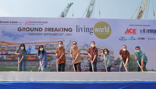 Kawan Lama Grup dan Sinar Mas Land Lanjutkan Pembangunan Living World Grand Wisata Bekasi
