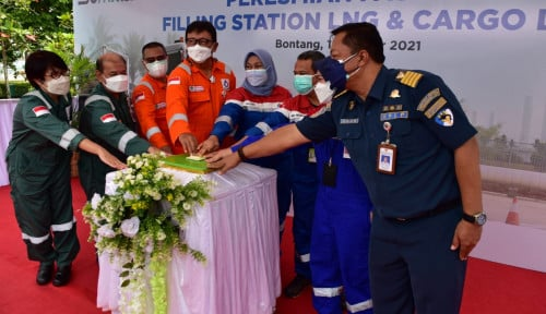 Sub Holding Gas Pertamina Bangun Filling Station LNG di Bontang