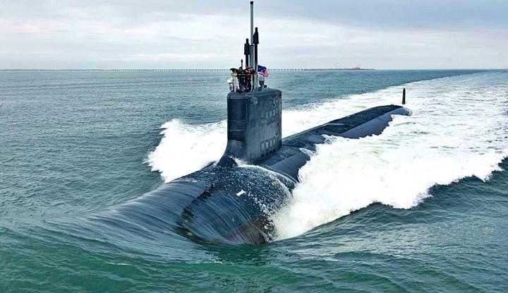 Apa yang Dilakukan Kapal Selam Nuklir Amerika Diam-diam di LCS?
