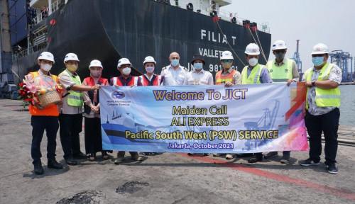Pertama di Indonesia, Raksasa Alibaba Group Percayakan Kapalnya Sandar di JICT