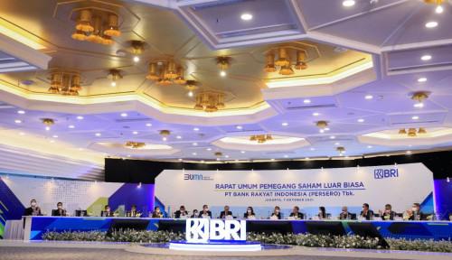 Gelar RUPSLB, BRI Tegaskan Komitmen Penerapan Keuangan Berkelanjutan