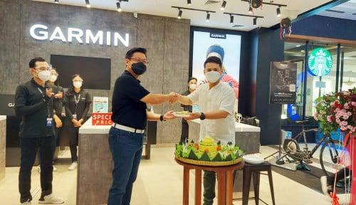 Garmin Resmikan Garmin Brand Store Baru di Tiga Kota