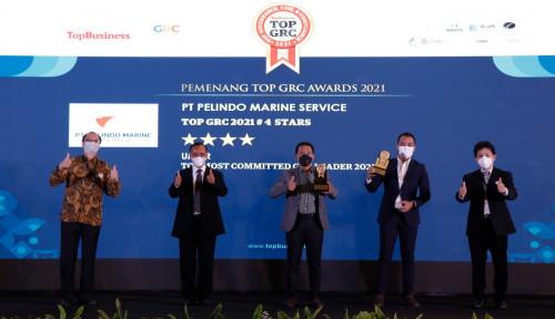 Pertahankan Predikat Raih Top GRC level 4 Stars, Bos Keuangan Pelindo Marines Bilang Begini