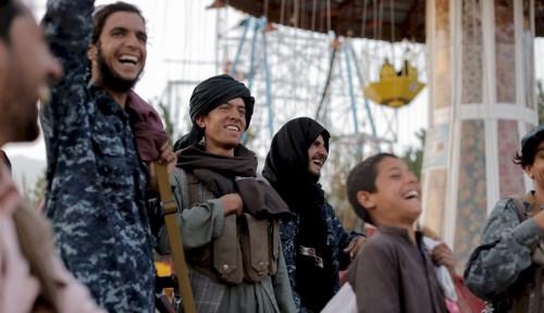 'Party' Ala Taliban di Taman Hiburan Afghanistan, Lihat Semuanya Gembira...