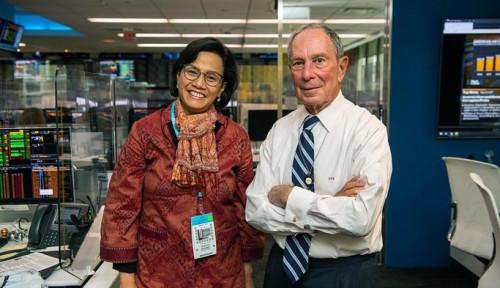 Sri Mulyani Temui Miliarder Michael Bloomberg, Pembahasannya Bukan Kaleng-kaleng!