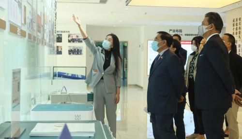 Jajaki Potensi Kerja Sama Bidang Genetika, KBRI Beijing Tiba di Laboratorium Riset di China