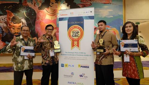 Lintasarta Borong Penghargaan Bergengsi di TOP GRC Awards 2021