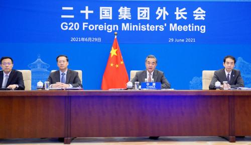 Di Muka KTT G20, China Minta Jangan Tanam Ideologi Baru pada Afghanistan