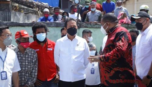 Menteri Trenggono Ingin Manokwari Jadi Model Kampung Nelayan Sehat