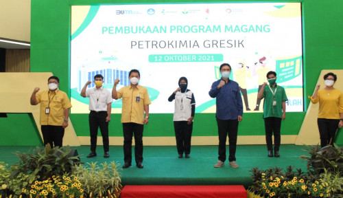 Siapkan Tenaga Kerja Unggul, Petrokimia Gresik Buka Program Magang Untuk 188 Peserta