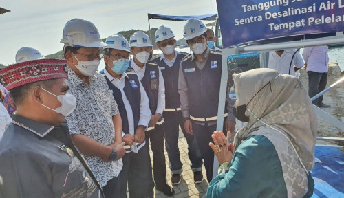 Bank Mandiri Gandeng Indra Karya Bangun Sarana Desalinasi Air Laut di Labuan Bajo