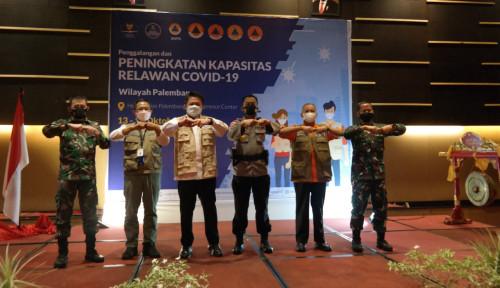 Satgas Relawan COVID-19 Tingkatkan Kapasitas 1000 Relawan Wilayah Palembang