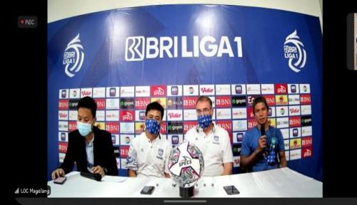 Pelatih Persib dan COO Bhayangkara FC Akhirnya Berdamai