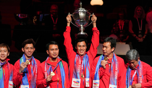 Indonesia Raih Piala Thomas, PDIP Sebut 'Energi Positif' Jokowi