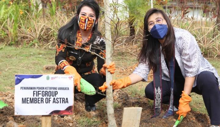 FIF Group Tambah Ruang Terbuka Hijau di Singkawang