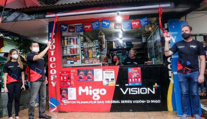 Vision+ Serius Garap Kolaborasi dengan Migo, Hary Tanoesoedibjo Resmikan Warung Migo