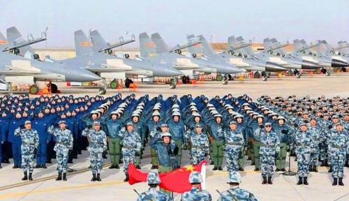 Pangkalan Militer China Bikin Gemetar, Isyarat Perang Menyala!